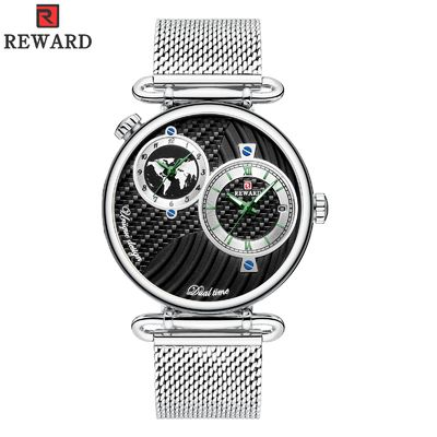 Cina Dua Gerakan Stainless Steel Watch Caseback, Mens Case Waterproof Watches Alloy